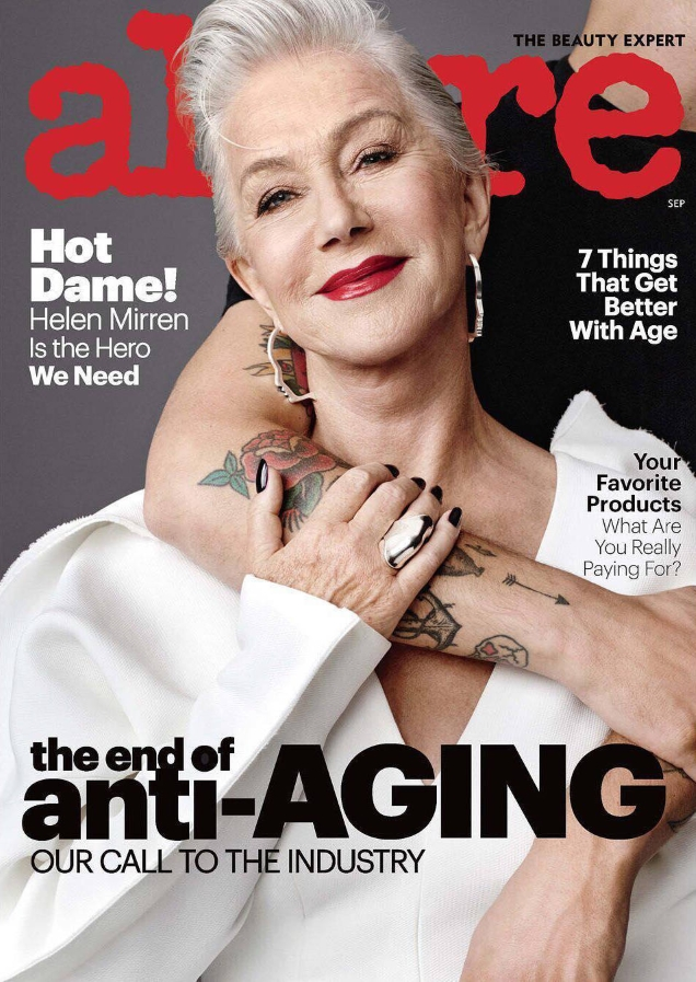 'Allure' Banned the Term 'Anti-Aging'