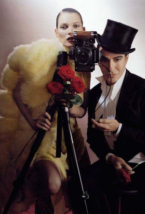 John Galliano tried his hand at the magazine game