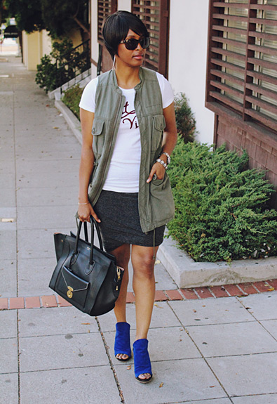Forum Street Style: Kim Mitchell Stokes Shows Off Her Casual Chic San Francisco Style