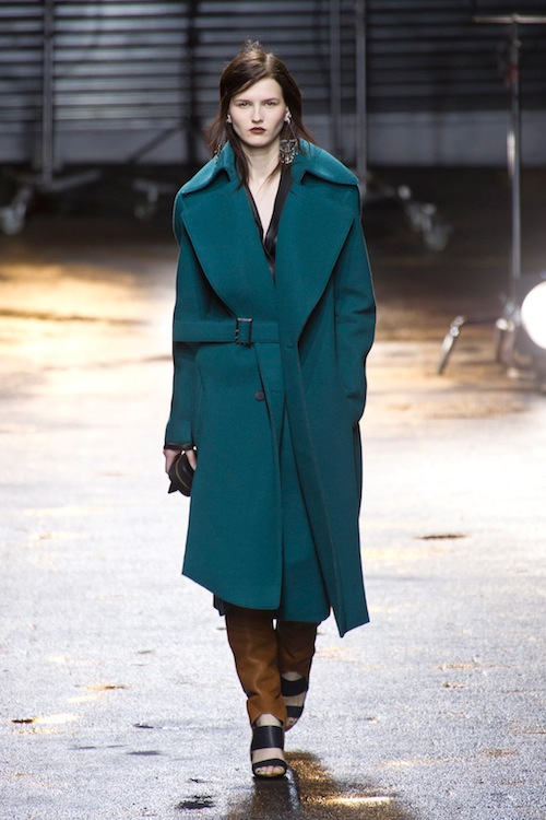 The Jewel-Toned Coat