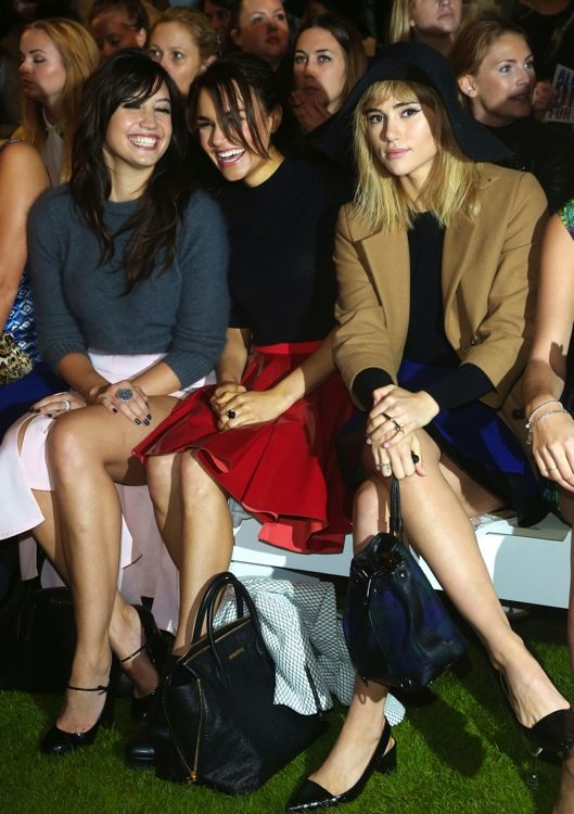 Daisy Lowe, Samantha Barks and Suki Waterhouse