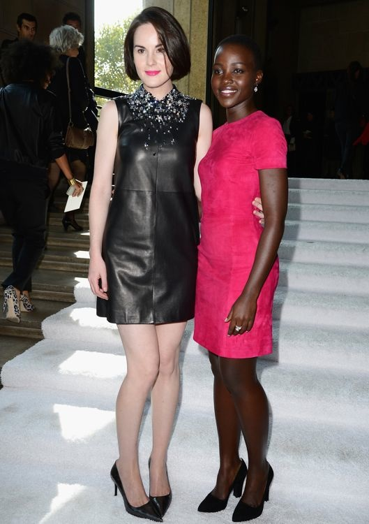 Michelle Dockery and Lupita Nyong'o