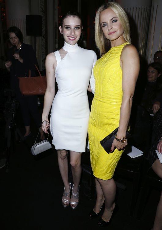 Emma Roberts and Mena Suvari