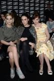 Leigh Lezark, Tallulah Harlech and Louise Bourgoin