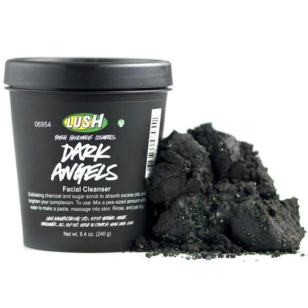 LUSH COALFACE Dark Angels Velvety Black Sugar Cleanser