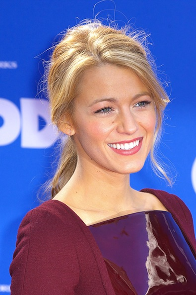 Blake Lively's Glowing Cheeks