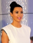 Kim Kardashian's Top Knot