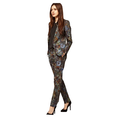 ASOS Premium Floral Printed Suit