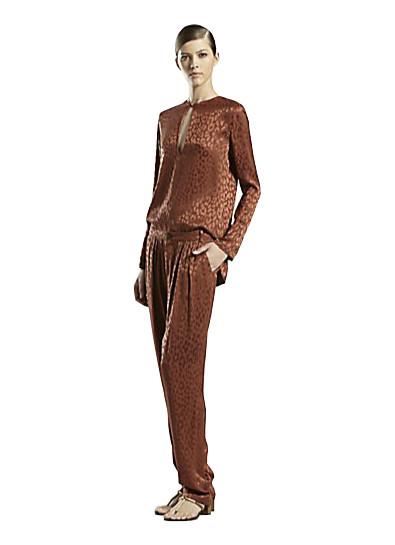 Gucci Leopard Jacquard Suit