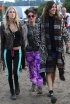 Mary Charteris, Jaime Winstone and Alexa Chung Day 4