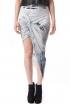 Tidal Print Skirt