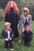 Kim Kardashian, North West, Joyce Bonelli and Zeplin Black
