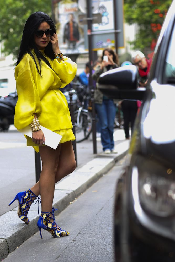 Haute Couture Street Style Fall 2014