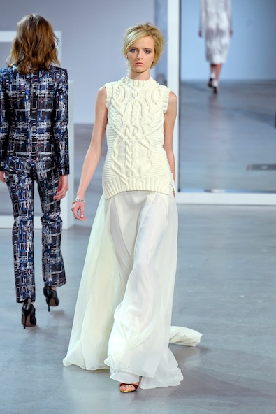 Derek Lam Fall 2012: Texture Mix