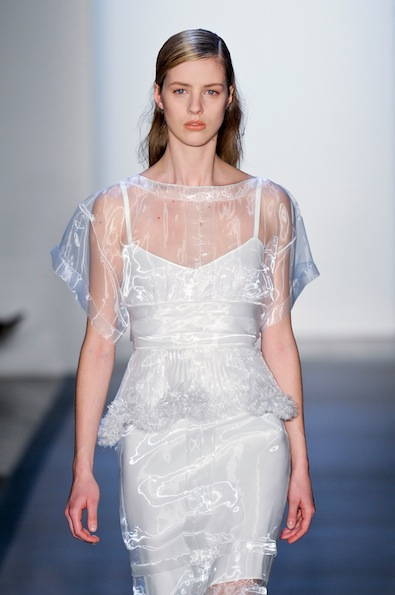 Peter Som Fall 2012: It's Sheer Genius