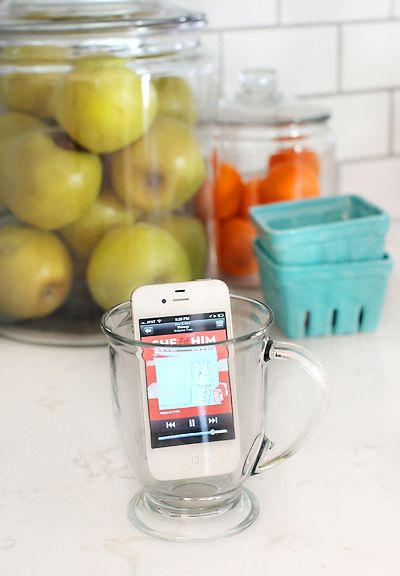 Instant Speakers in a Glass