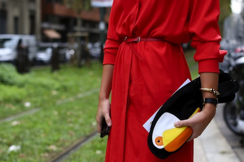Milan Fashion Week Street Style SS 14