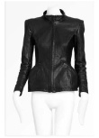 Key Piece: Structured Leather Jacket