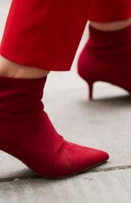 13. Kitten Heels/Red Boots