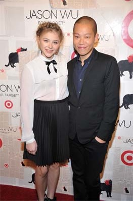 Chloe Moretz with Jason Wu