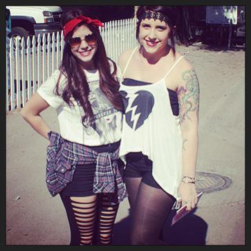 Courtney and Samantha