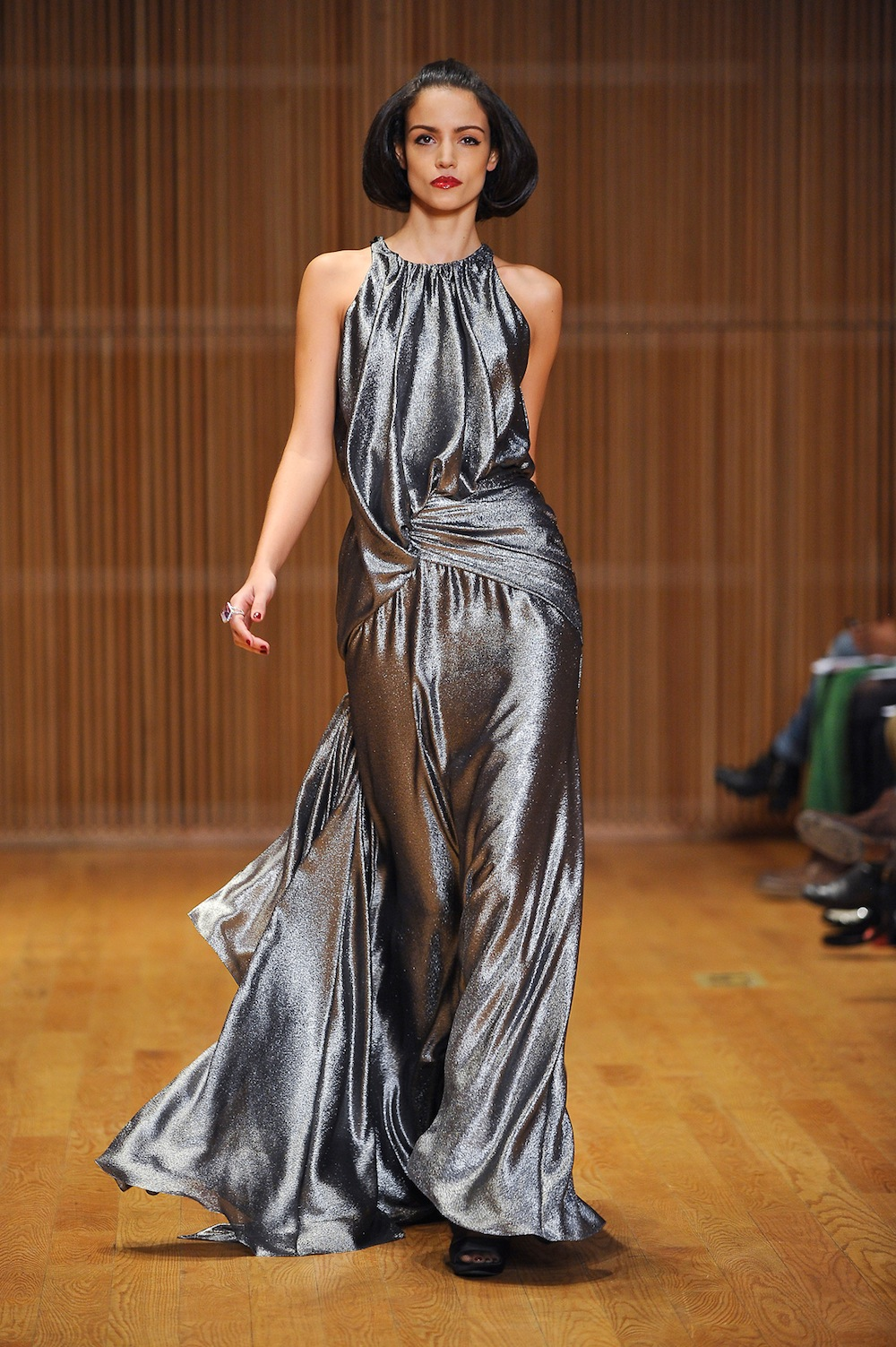Silver Gown at Douglas Hannant