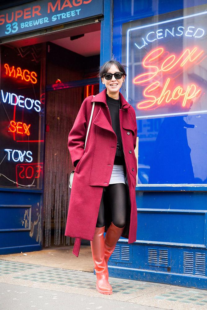 London Fashion Week Fall 2016 Street Style