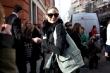 Olivia Palermo arrives at Pringle of Scotland