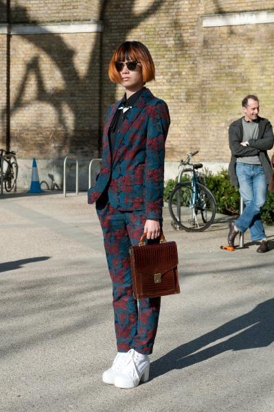 LFW Street Style Fall 2013