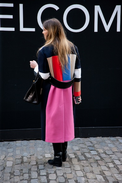 This season's much sought-after Celine winter coat