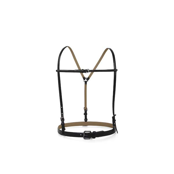 BCBGMAXAZRIA Suspender Waist Belt