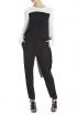 BCBGMAXAZRIA Fiona Side-Draped Jumpsuit