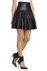 BCBGMAXAZRIA Shanina Pleather-Strapped Skirt