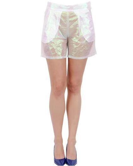 Vivette Iridescent Shorts, $322