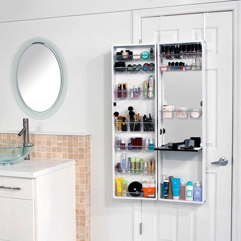 Bathroom Makeup Organizers