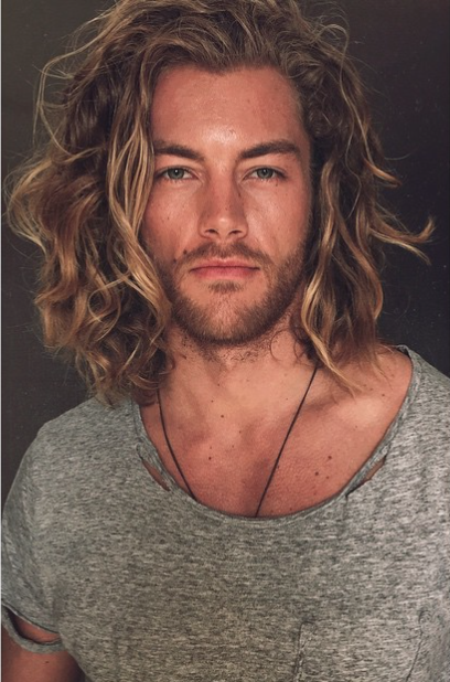 32 Gorgeous Top Male Models With Long Hair Thefashionspot