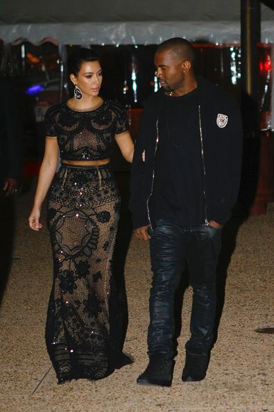 Kim Kardashian in Emilio Pucci