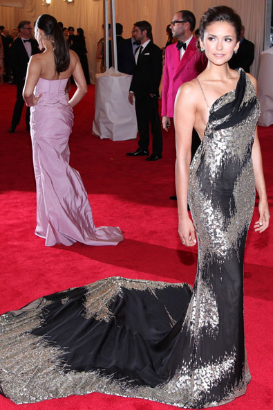 Nina Dobrev in Donna Karan Atelier