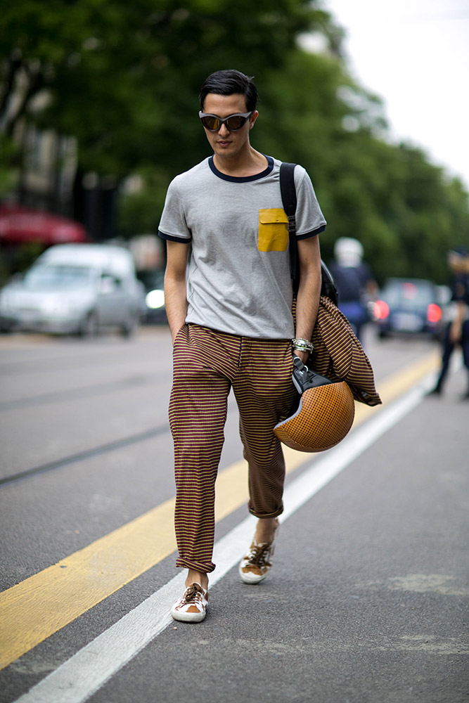 Milan Men 39 S Fashion Week Spring 2016 Street Style