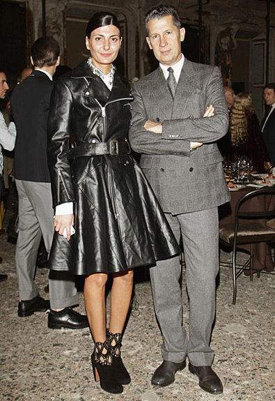 Giovanna Battaglia &amp; Stefano Tonchi