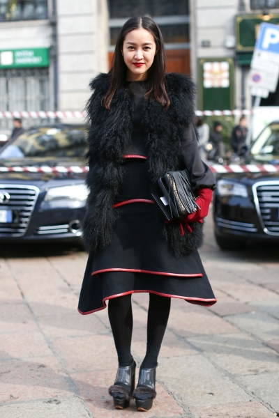 Milan Fashion Week Street Style (Fall 2013)