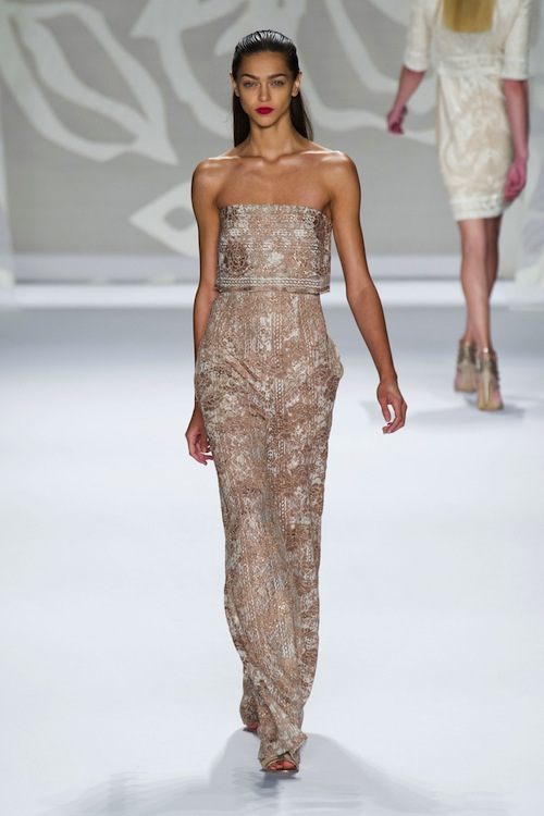Monique Lhuillier SS 2014