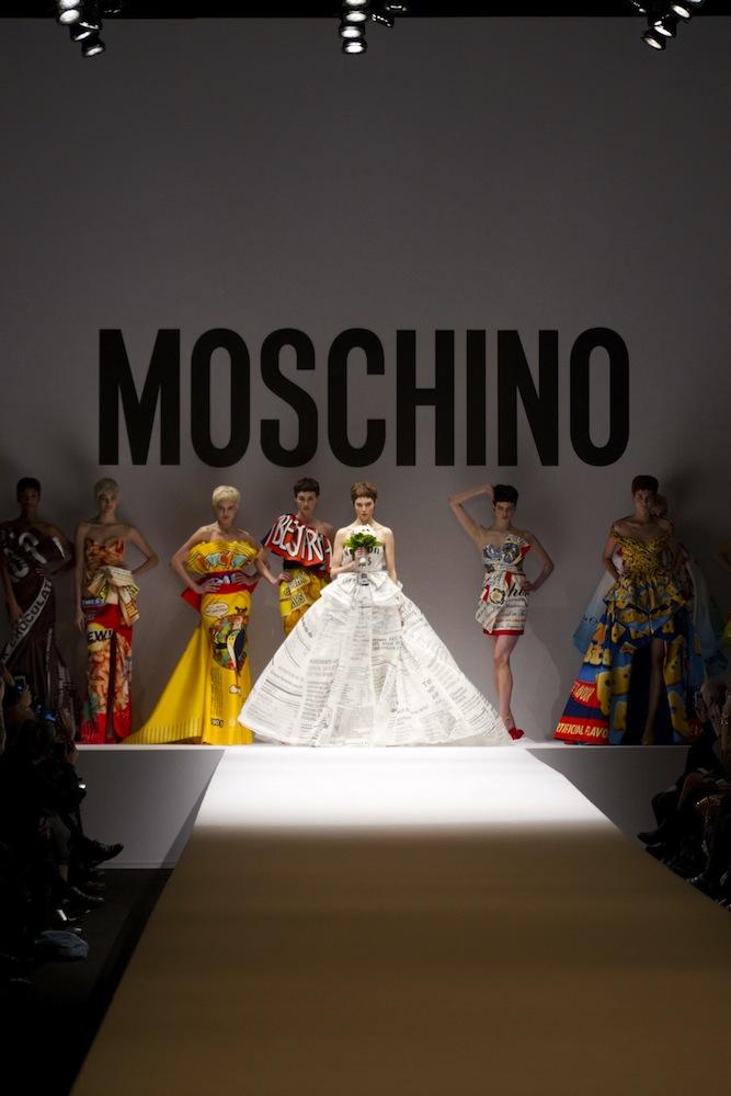 Moschino Fall 2014