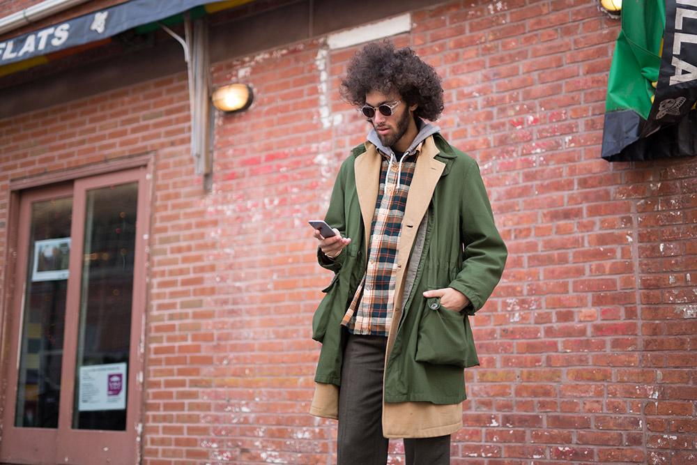 New York Men's Fashion Week Fall 2016 Street Style