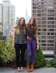 Rae Francis Designers Ariel Lilly and Christina Coniglio