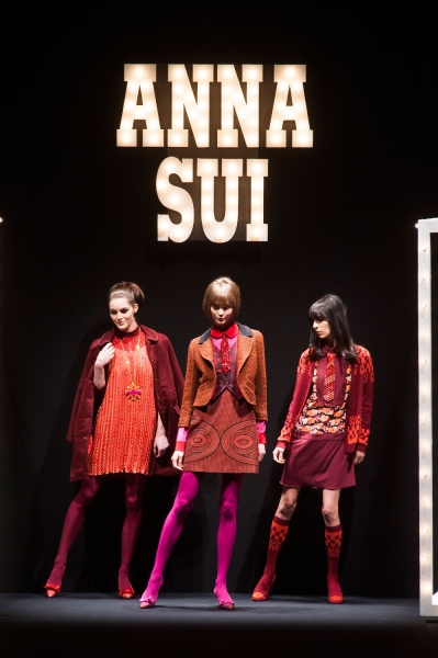 Anna Sui Fall 2013