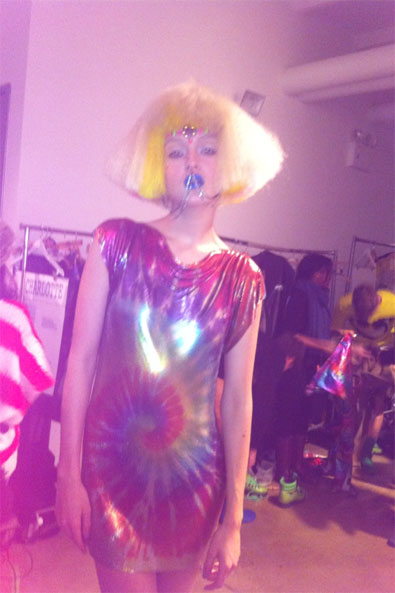 My look for Jeremy Scott