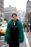 how to wear fur, outside Ralph Lauren