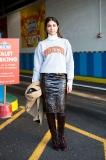 Leaving Karen Walker - Vogue meets Princeton sweatshirt