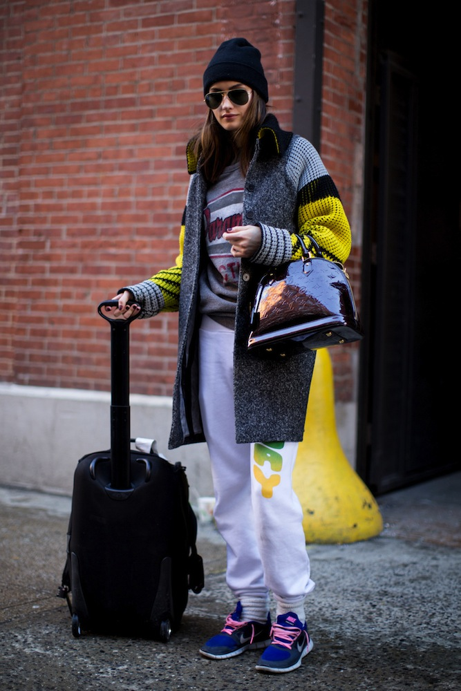 NYFW Fall 2014 Model Street Style: Best Outerwear